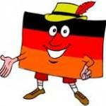 der deutsche Flaggenmann