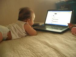Kinder auf sozialen Netzwerken